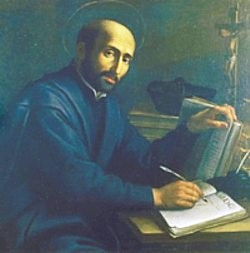 Ignatius Loyola founder of the Jesuit Order