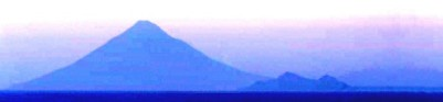 Mt. Fuji in the twilight