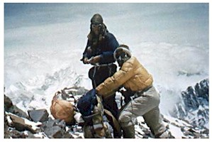 Sir Edmund Hillary and Tenzing Norgay  Mount Everest Pictures